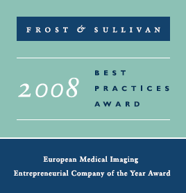 Frost & Sullivan: 2008 European Medical Imaging Entrepreneurial Company of the Year Award